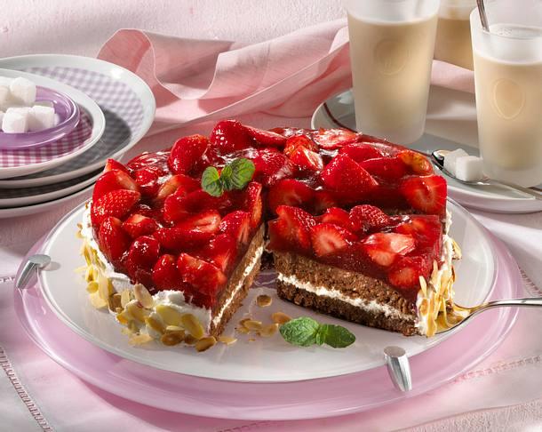 Erdbeer-Grütze-Torte Rezept