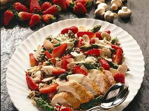 Erdbeer-Hähnchensalat Rezept