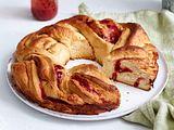 Erdbeer-Hefekranz Rezept