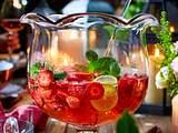 Erdbeer-Hugo-Bowle Rezept