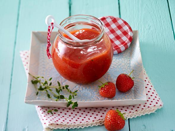 Erdbeer-Ingwer-Fruchtaufstrich Rezept