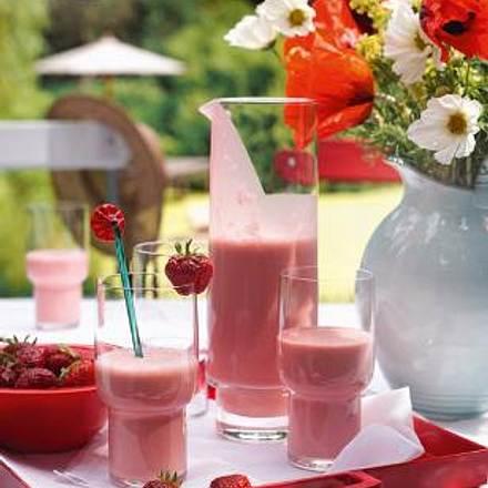 Erdbeer-Joghurt Drink Rezept