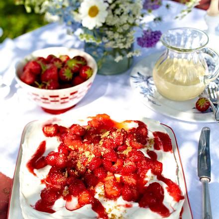 Erdbeer-Käsekuchen Rezept