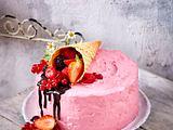 Erdbeer-Käsekuchen-Torte (Titel) Rezept