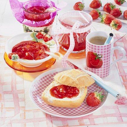Erdbeer-Karamell-Konfitüre Rezept