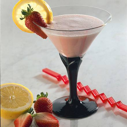 Erdbeer-Kefir-Mix Rezept