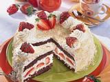 Erdbeer-Kokos-Sahnetorte Rezept