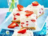 Erdbeer-Kokos-Schnitten Rezept