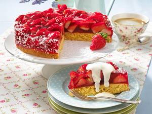 Erdbeer-Kokos-Torte (Diabetiker) Rezept