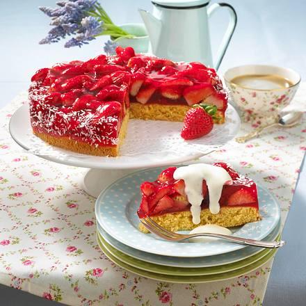 erdbeer kokos torte diabetiker rezept chefkoch rezepte auf kochen backen und. Black Bedroom Furniture Sets. Home Design Ideas