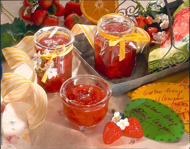 Erdbeer-Konfitüre Rezept