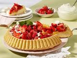Erdbeer-Lemon-Biskuitkuchen Rezept