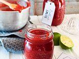 Erdbeer-Limetten-Konfitüre Rezept
