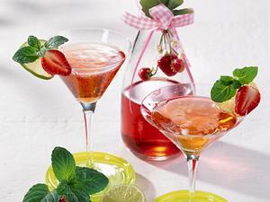 Erdbeer-Limetten-Likör Rezept