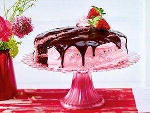 Erdbeer-Marshmallow-Torte Rezept