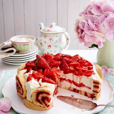 Erdbeer-Mascarpone-Charlotte Rezept