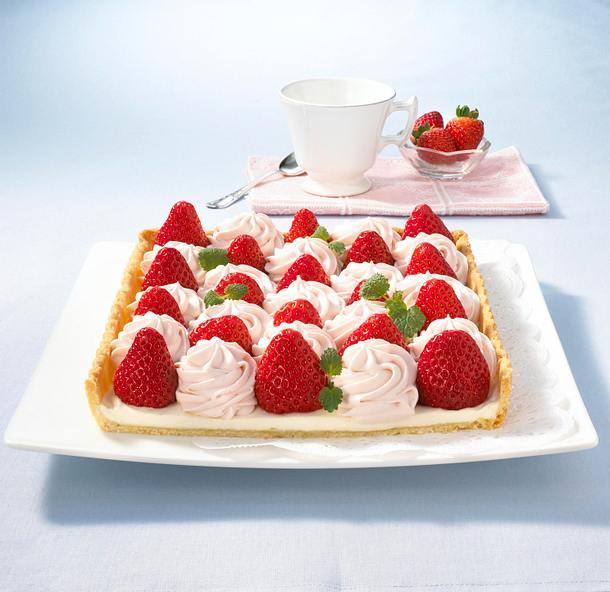Erdbeer-Mascarpone-Tarte Rezept
