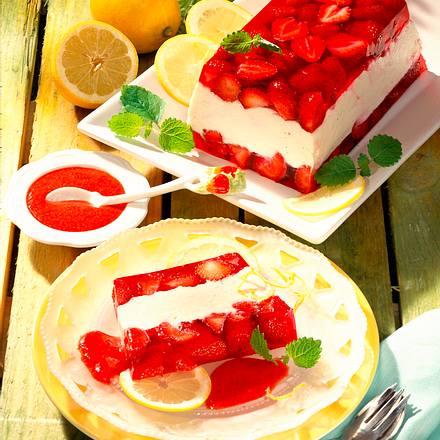 Erdbeer-Mascarpone-Terrine Rezept