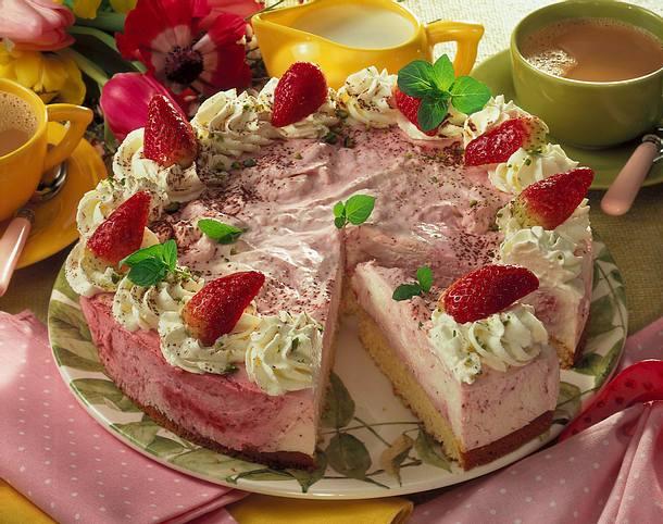 Erdbeer-Mascarpone-Torte (Diabetiker) Rezept