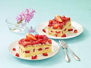 Erdbeer-Milchreis-Kuchen Rezept