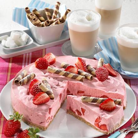 Erdbeer-Milchshake-Torte Rezept