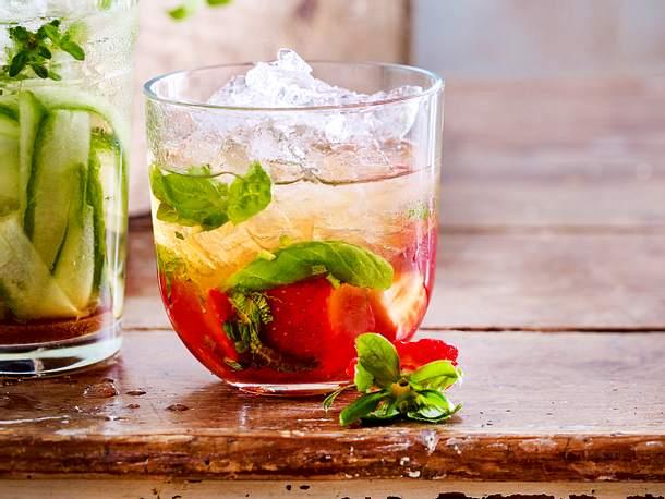 Erdbeer-Mojito - Rezept