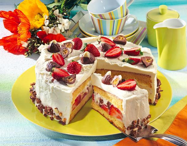 Erdbeer-Montelino-Torte Rezept