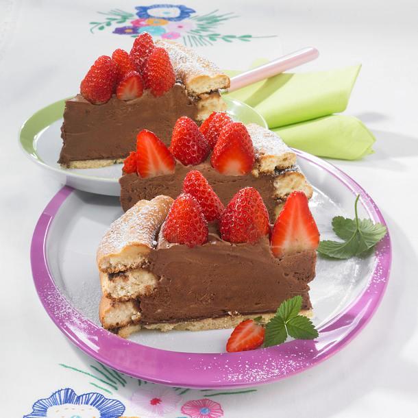 Erdbeer-Mousse-Torte Rezept