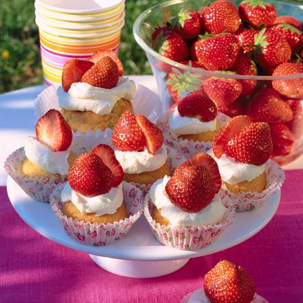 Erdbeer-Muffins Rezept