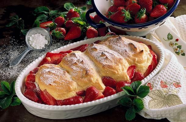 Erdbeer-Nocken Rezept