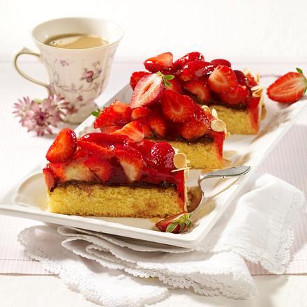 Erdbeer-Nuss-Nougat-Torte Rezept
