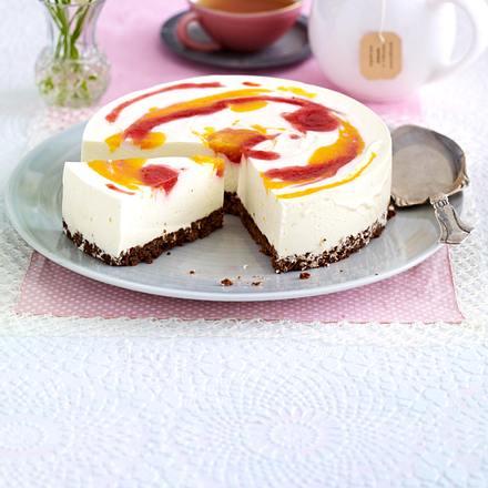 Erdbeer-Pfirsich-Wirbel Rezept