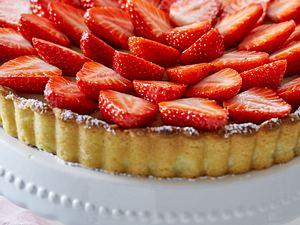 Erdbeer-Pistazien-Tarte Rezept