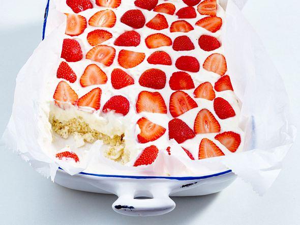Erdbeer-Quark-Kuchen Rezept