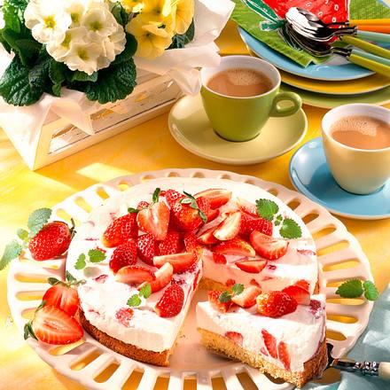 Erdbeer-Quark-Torte (Diabetiker) Rezept