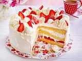 Erdbeer-Raffaello-Torte Rezept