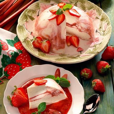 Erdbeer-Rhabarber-Mascarpone-Creme Rezept