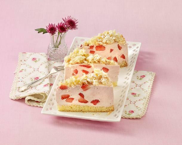 Erdbeer-Sahne-Käsekuchen Rezept