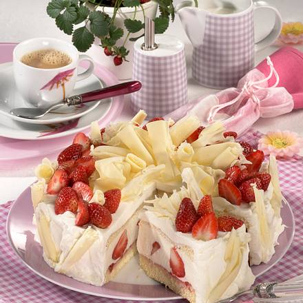 Erdbeer-Sahnetorte Rezept