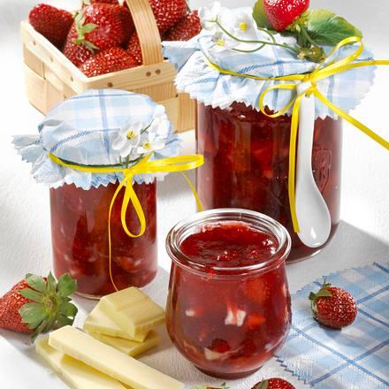 Erdbeer-Schoko-Konfitüre Rezept