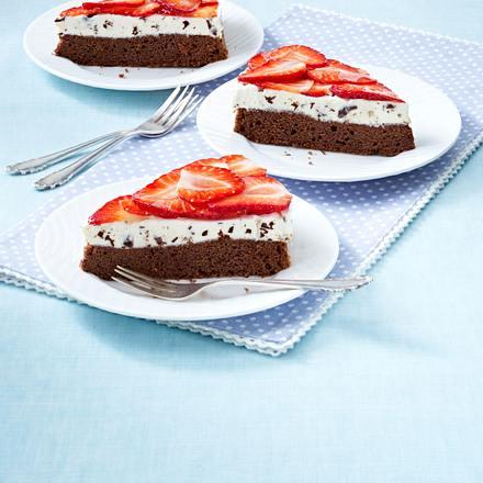Erdbeer Schoko Kuchen Rezept Lecker