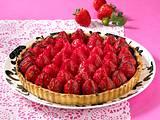 Erdbeer-Schoko-Tarte Rezept
