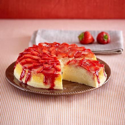 Erdbeer-Soufflée-Käsekuchen Rezept