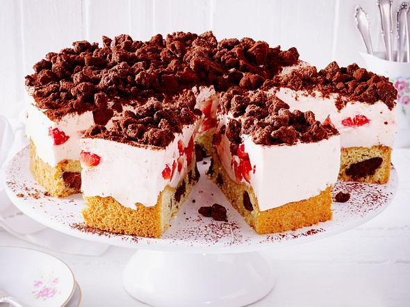 Erdbeer-Streuseltorte Rezept