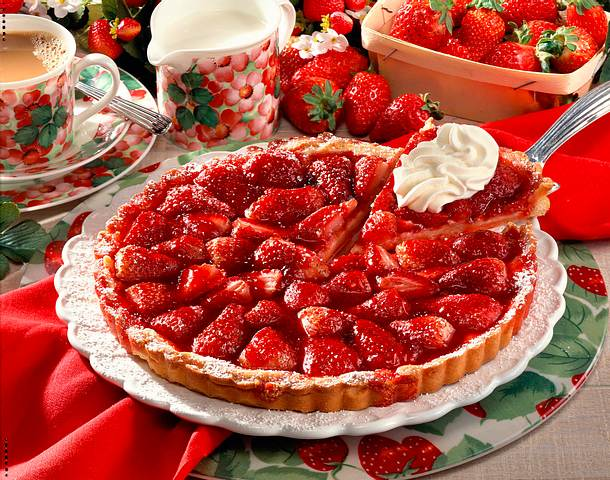 Erdbeer-Tarte Rezept