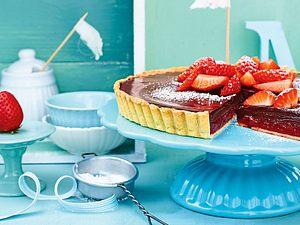 Erdbeer-Tarte mit Schokocreme Rezept
