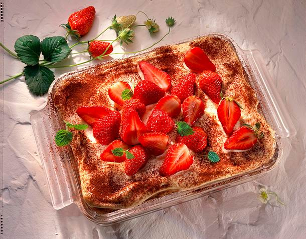 Erdbeer-Tiramisu Rezept