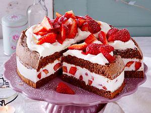 Erdbeer-Torte Rezept