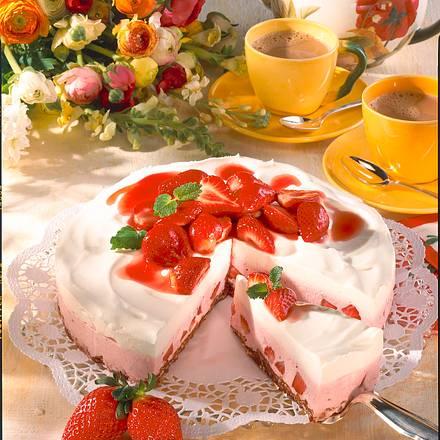 Erdbeer-Torte Typ Joghurette Rezept