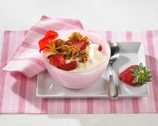 Erdbeer-Vanille-Quark Rezept
